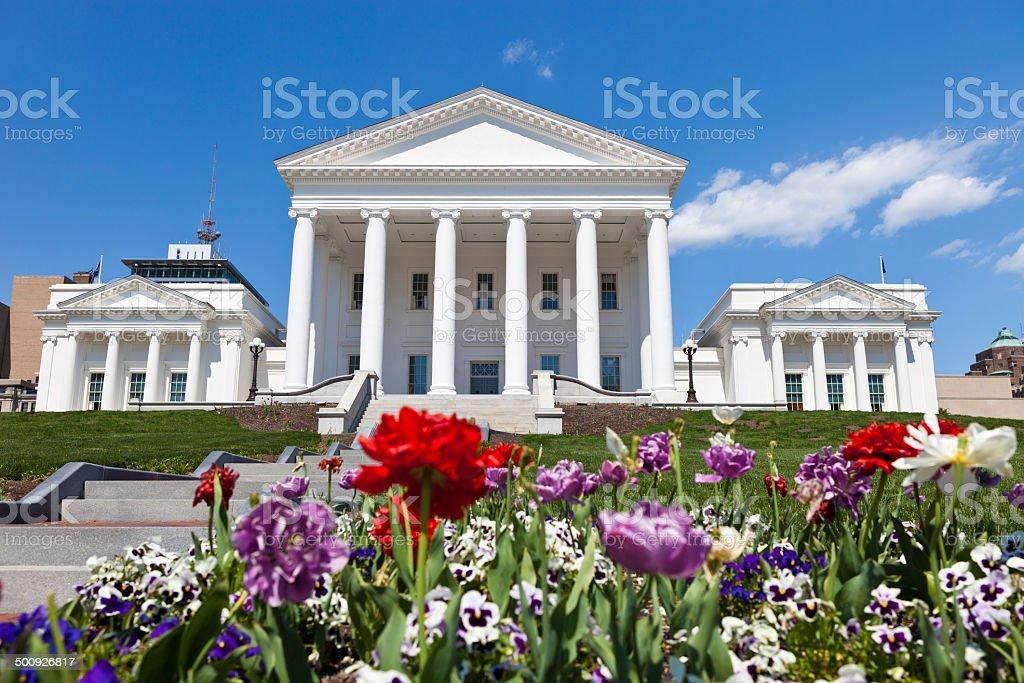 Richmond, Virginia Capital Building royalty-free stock photo
