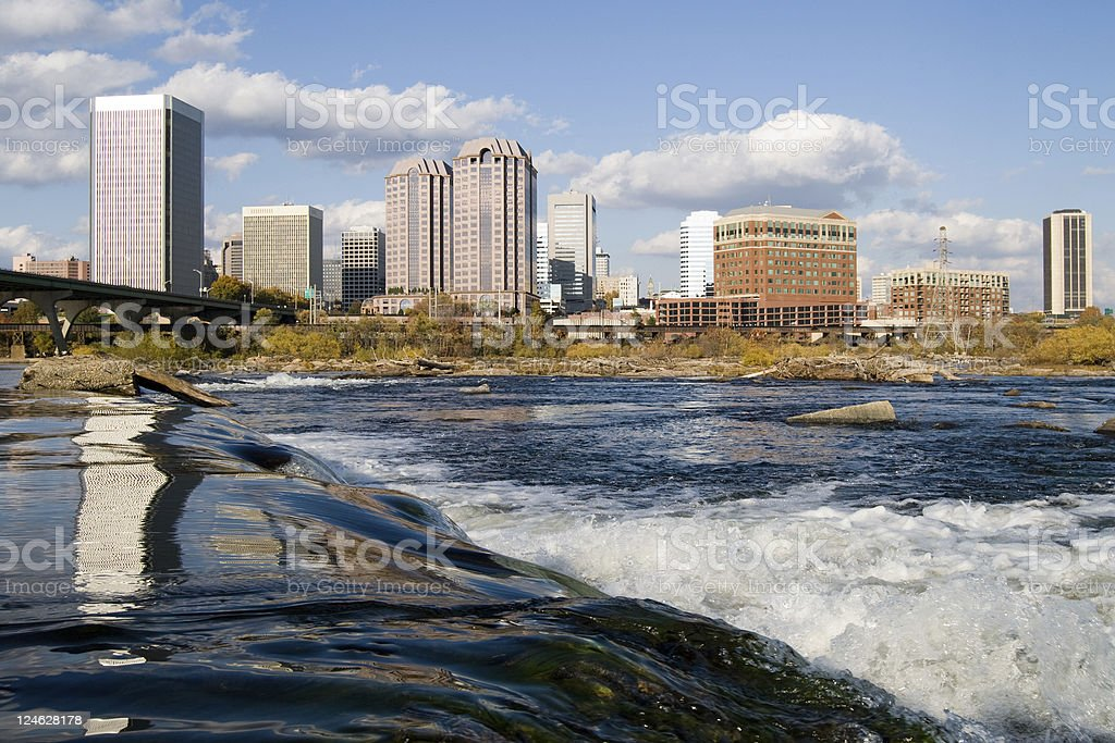 Richmond, Virginia royalty-free stock photo