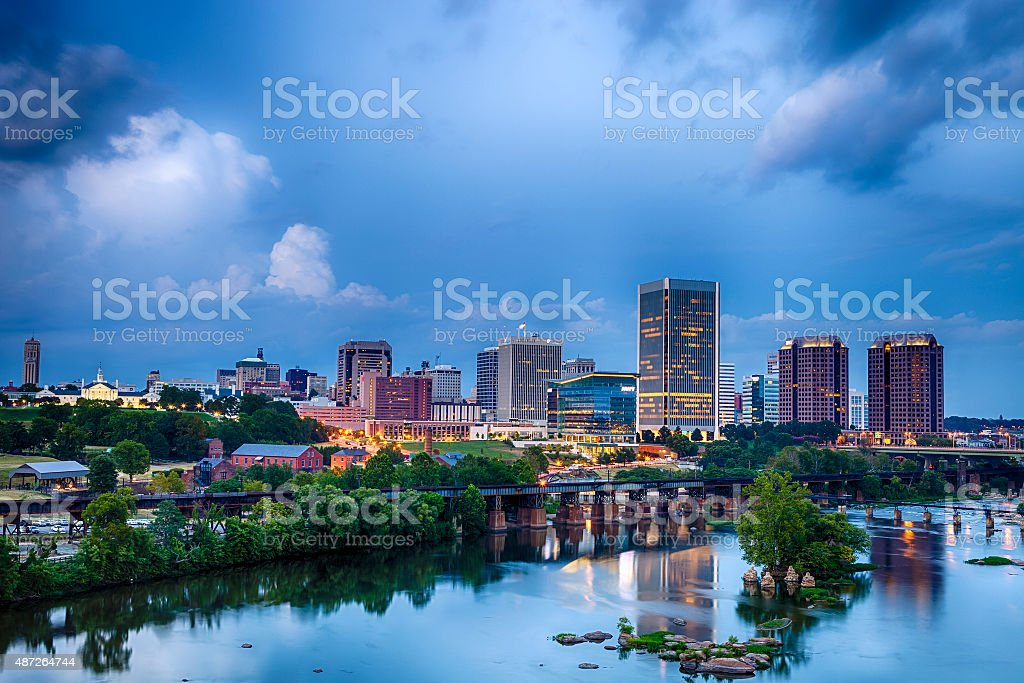Richmond, Virginia stock photo