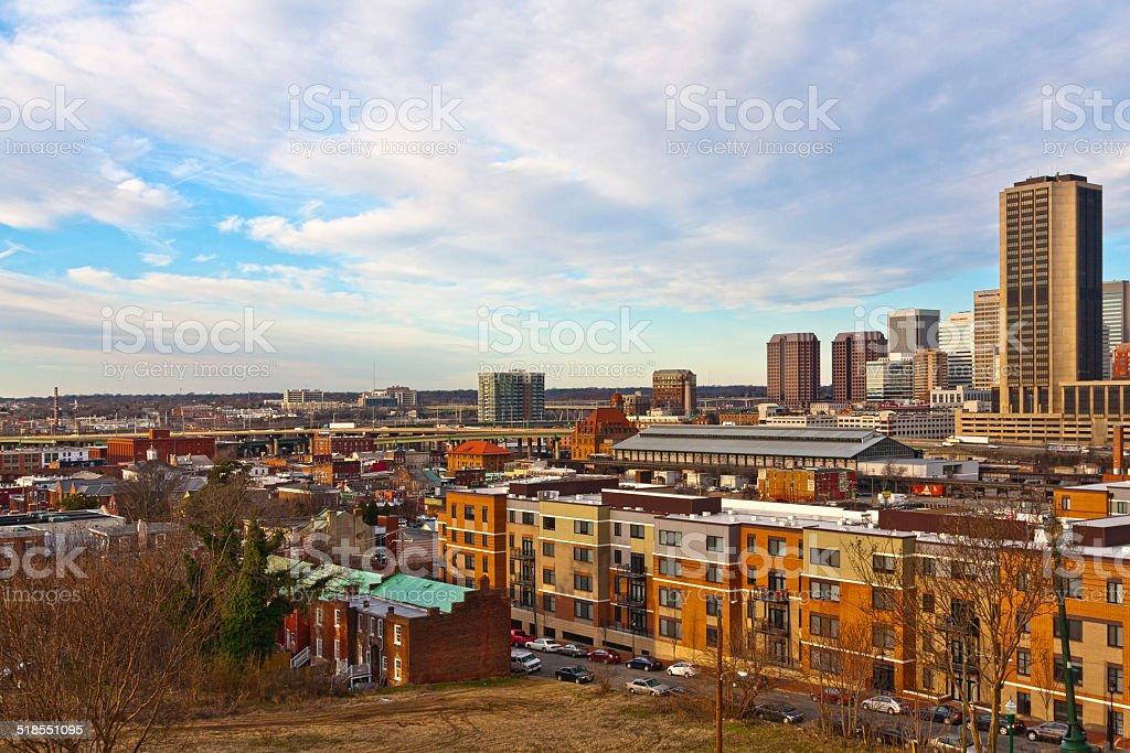 Richmond Virginia stock photo