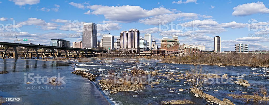 Richmond, Virginia, USA Panorama stock photo
