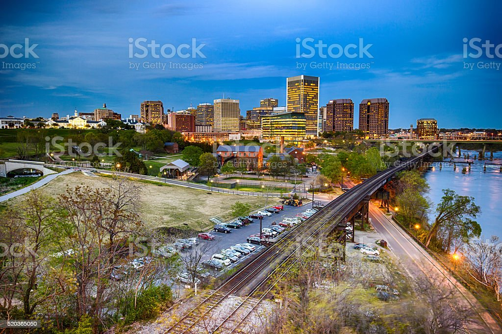 Richmond, Virginia, USA stock photo