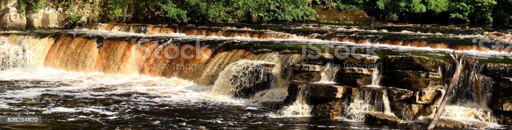 Richmond waterfall stock photo