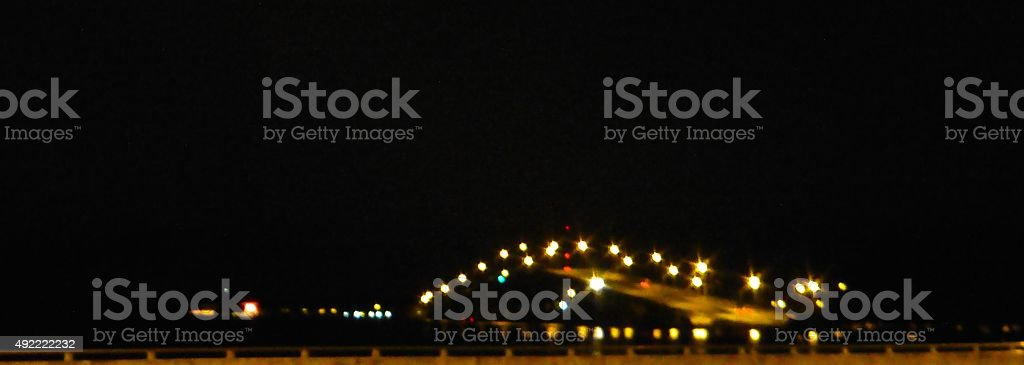 Rickenbacker Bridge stock photo