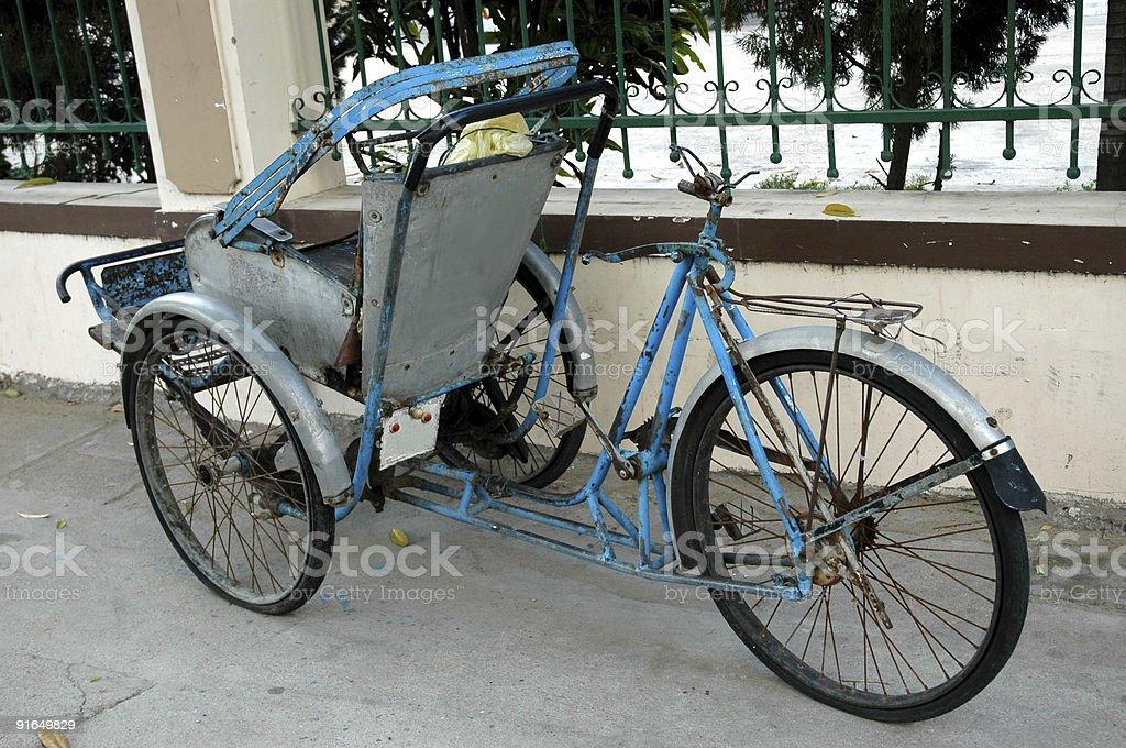 Rickshaw royalty-free stock photo