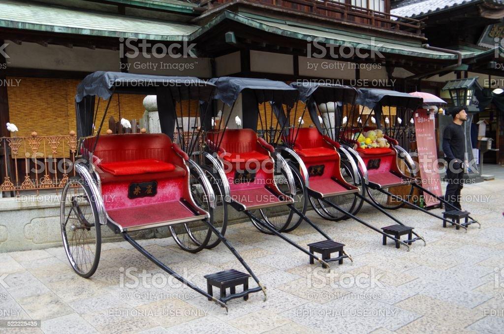 Se permite la calesa oriental de Japón, Onsen Dogo foto de stock libre de derechos