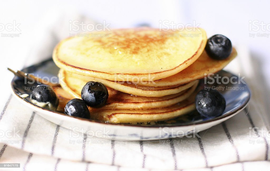 ricotta hotcake royalty-free stock photo