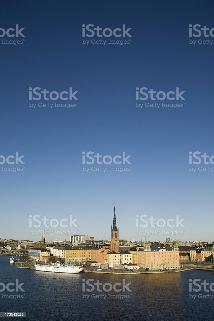 Riddarholmen royalty-free stock photo