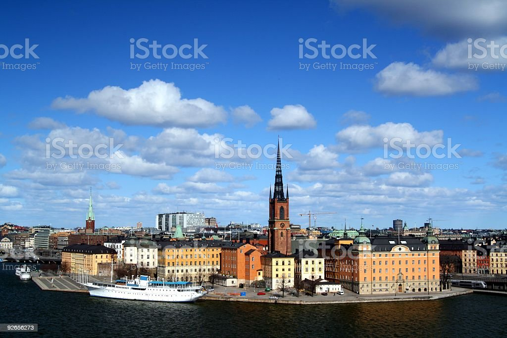 Riddarholmen stock photo