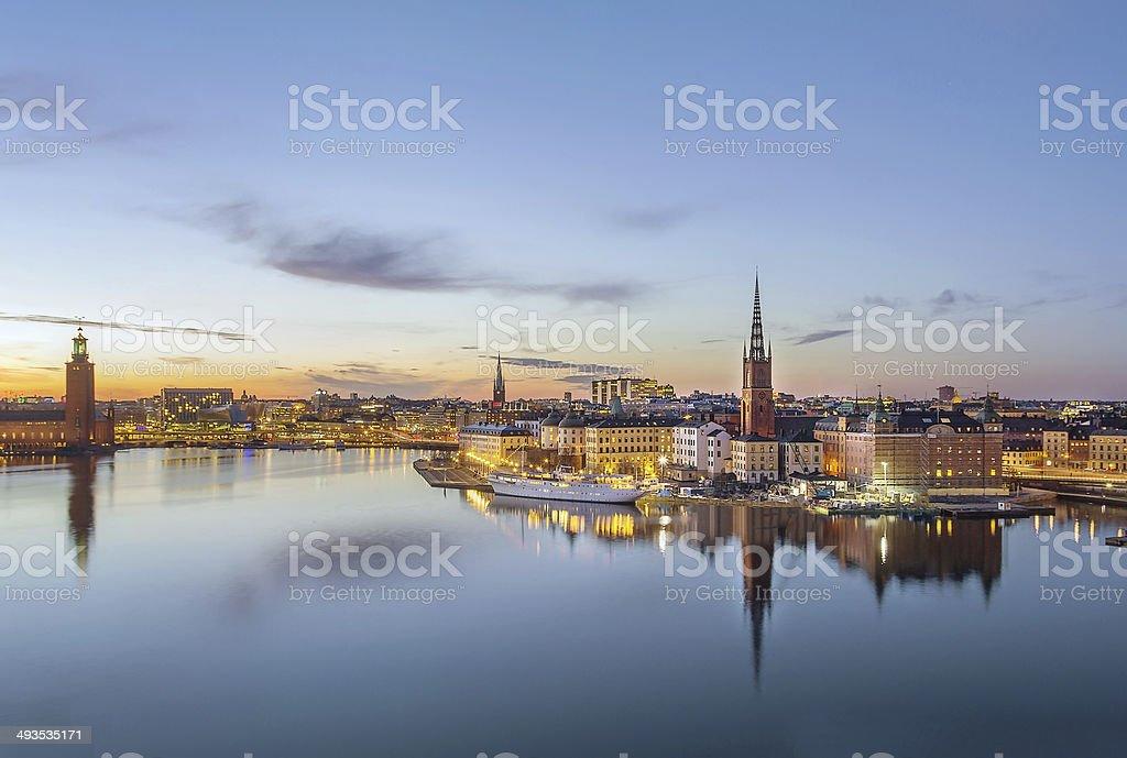 Riddarholmen, Stockholm stock photo