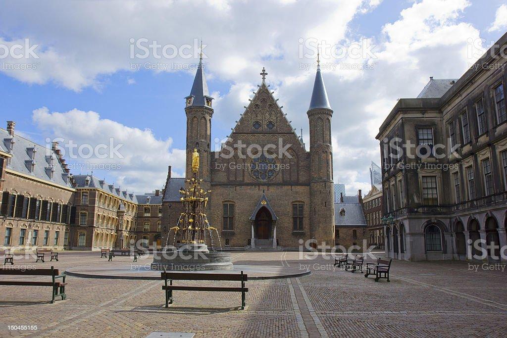 Ridderzaal, the Hague, Netherlands stock photo
