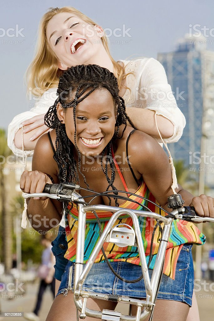 Ride and fun royalty-free stock photo