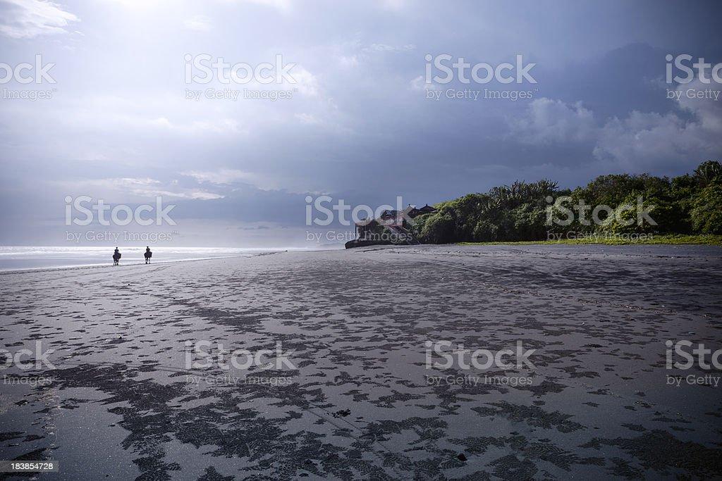 Ride at Bali Beach royalty-free stock photo
