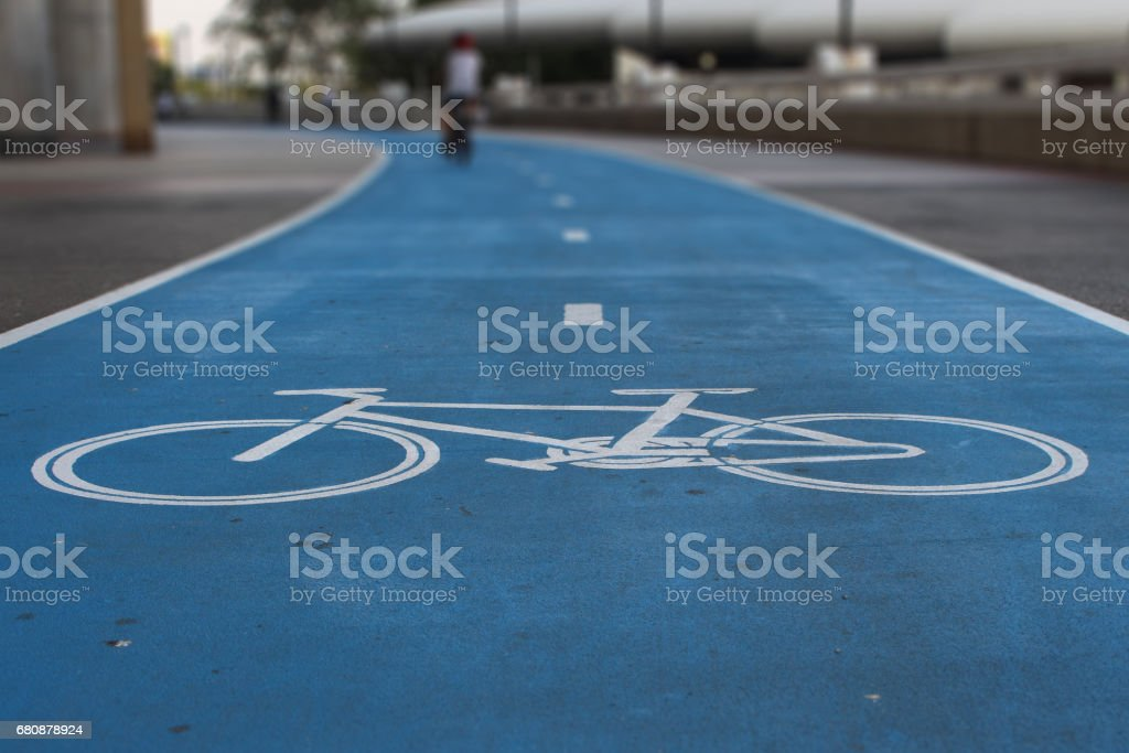 ride bicycle, The only way for cyclists stock photo