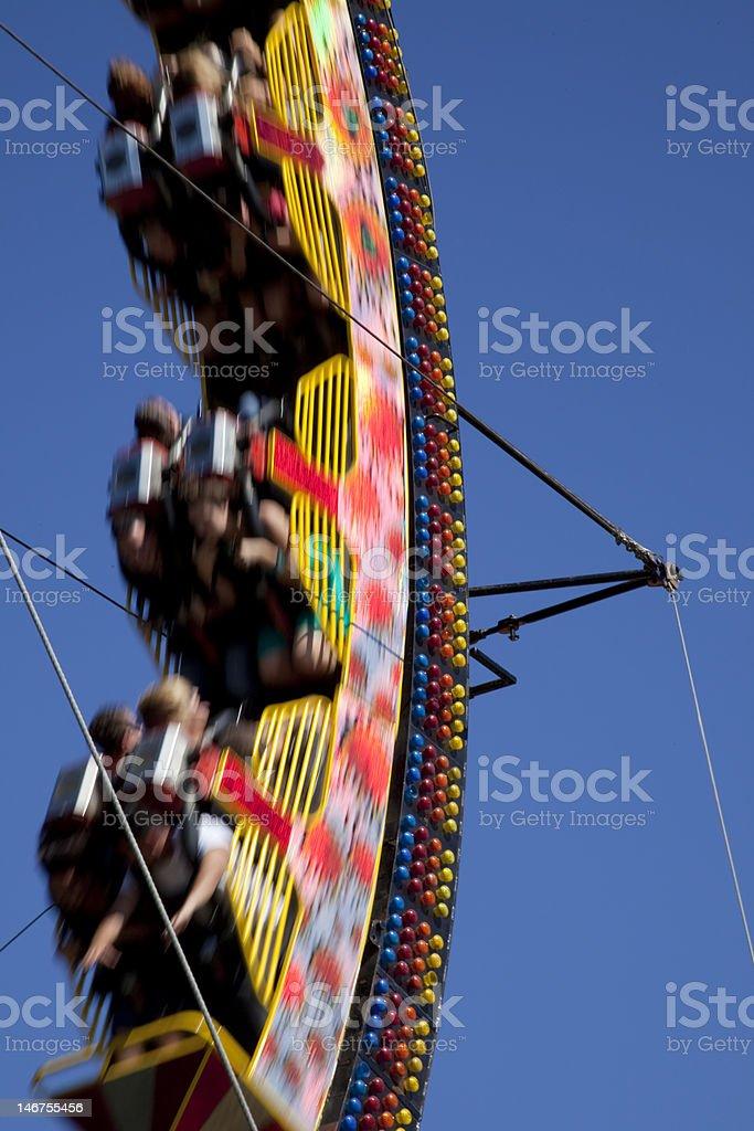 Ride Blur royalty-free stock photo