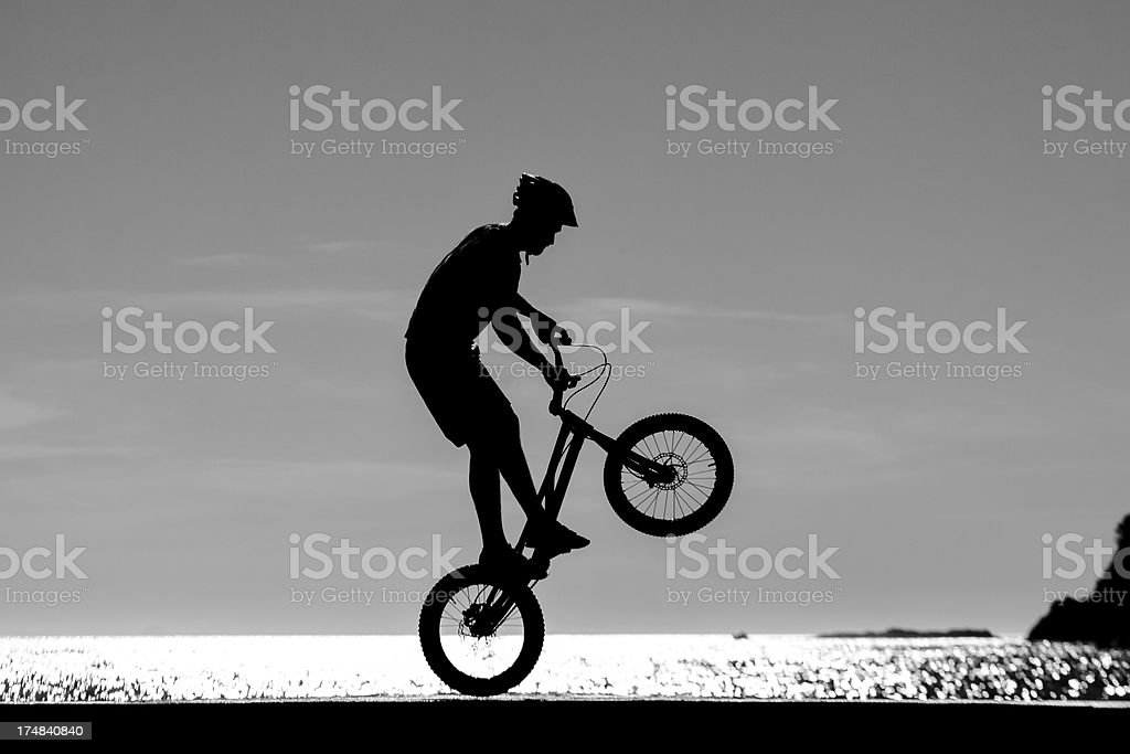 Ride by the Sea royalty-free stock photo