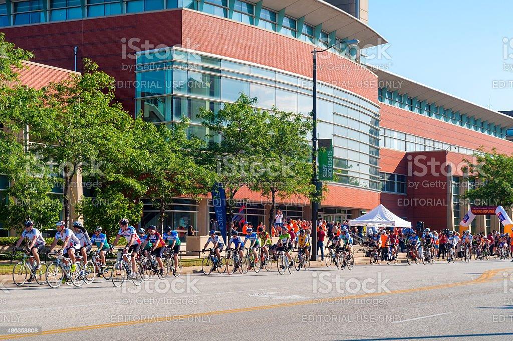 Ride event stock photo