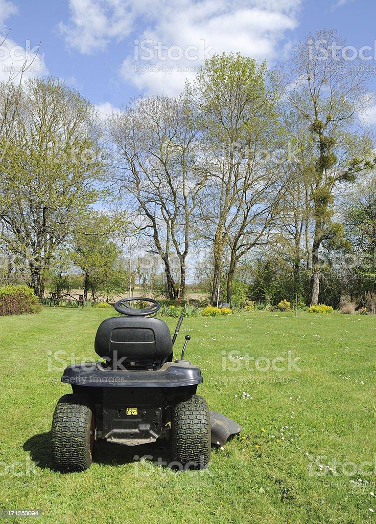 Ride On Mower stock photo