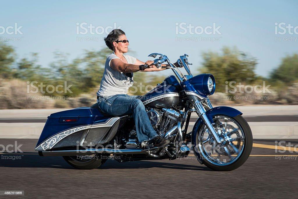 Ride. stock photo