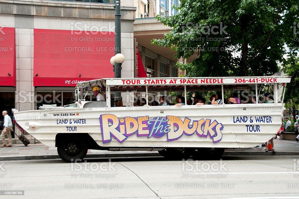 Ride the Ducks stock photo