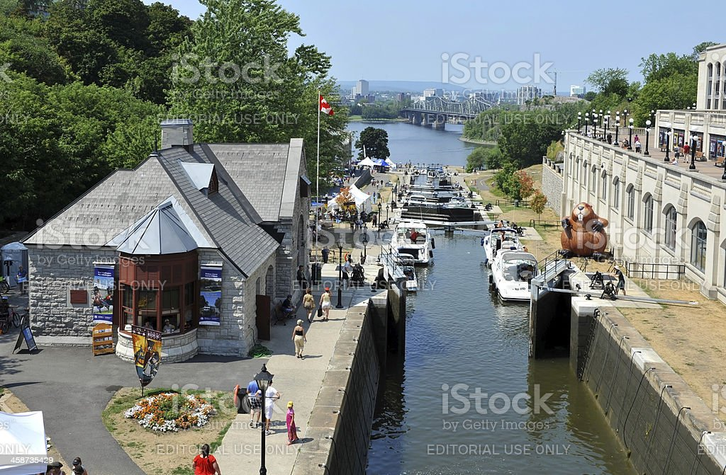 Rideau Canal Festival royalty-free stock photo
