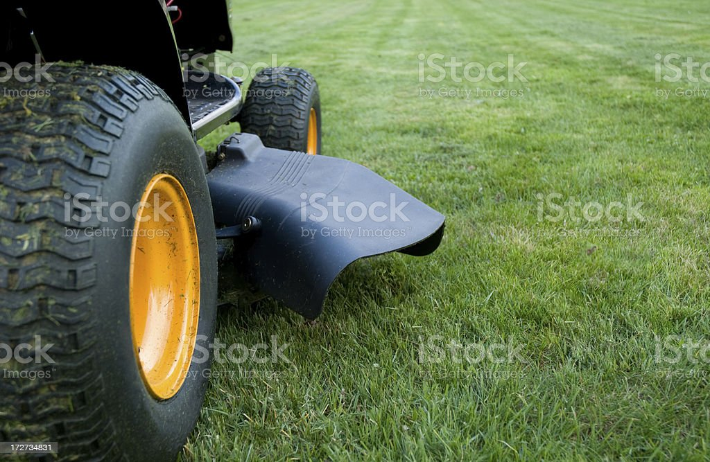 Ride-On Mower royalty-free stock photo