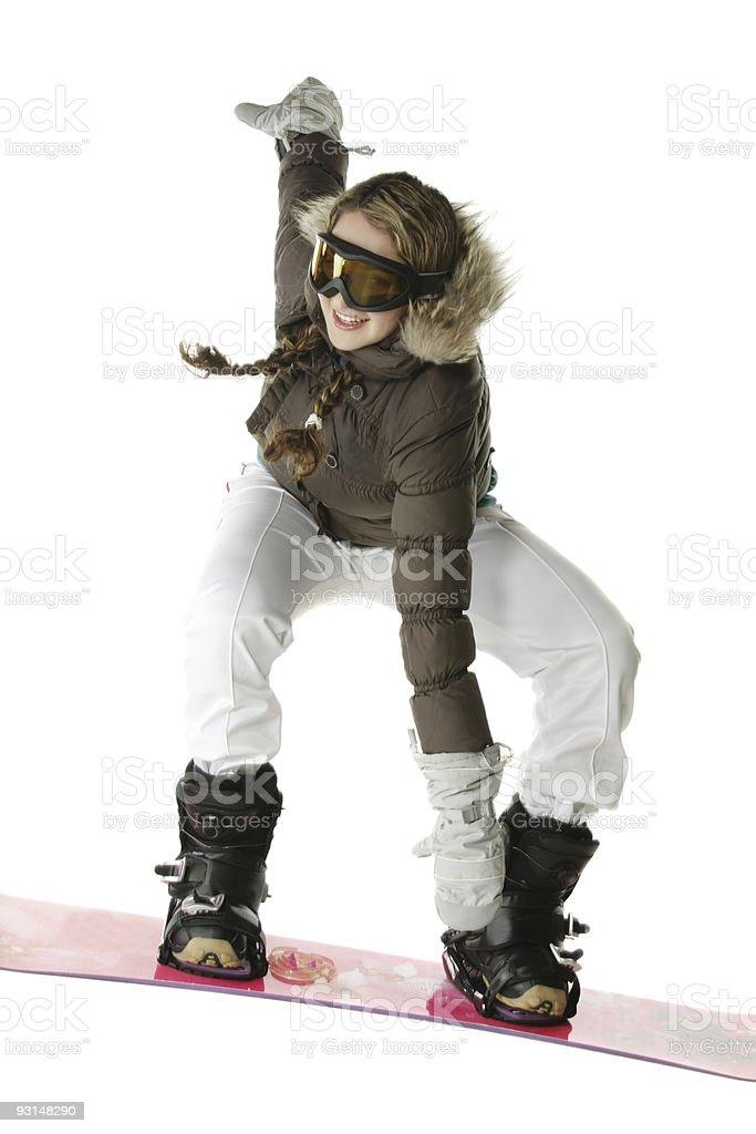 Rider jumping royalty-free stock photo