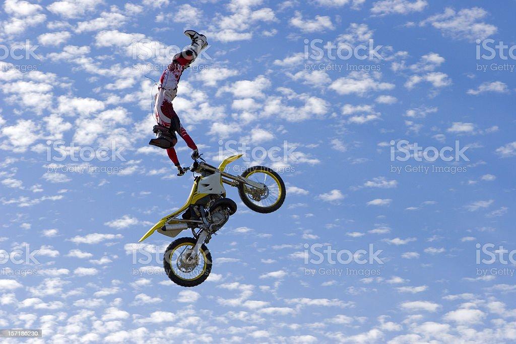 FMX Rider stock photo