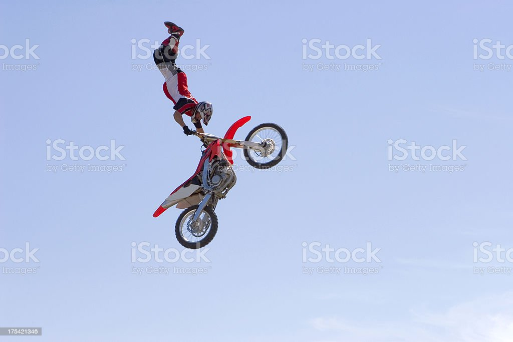 FMX Rider royalty-free stock photo