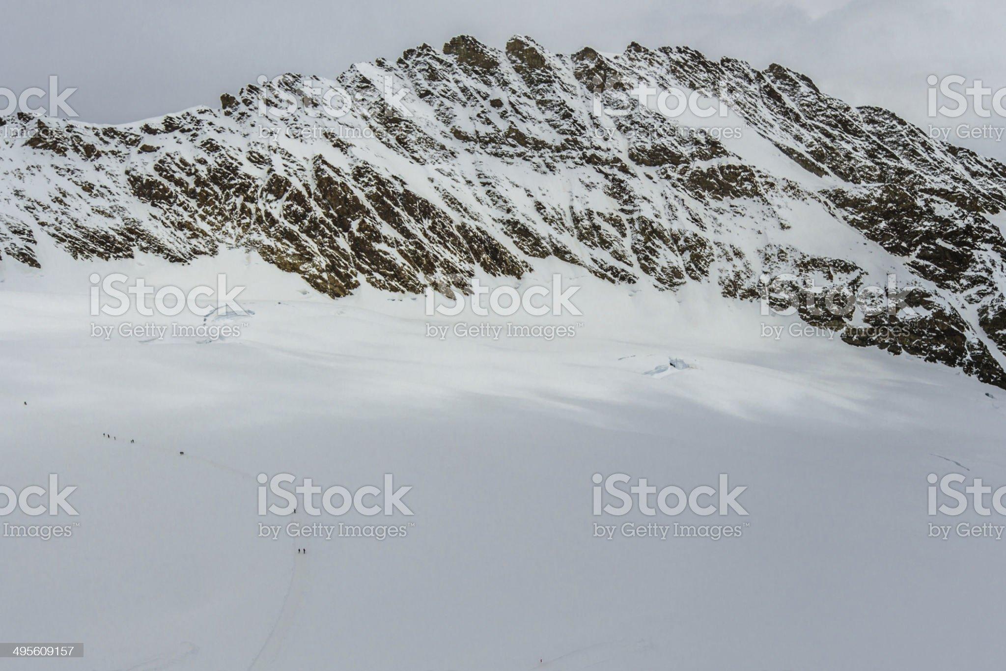 Ridge like a Dinosaur Back royalty-free stock photo