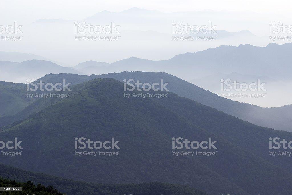 Ridge Mountains royalty-free stock photo