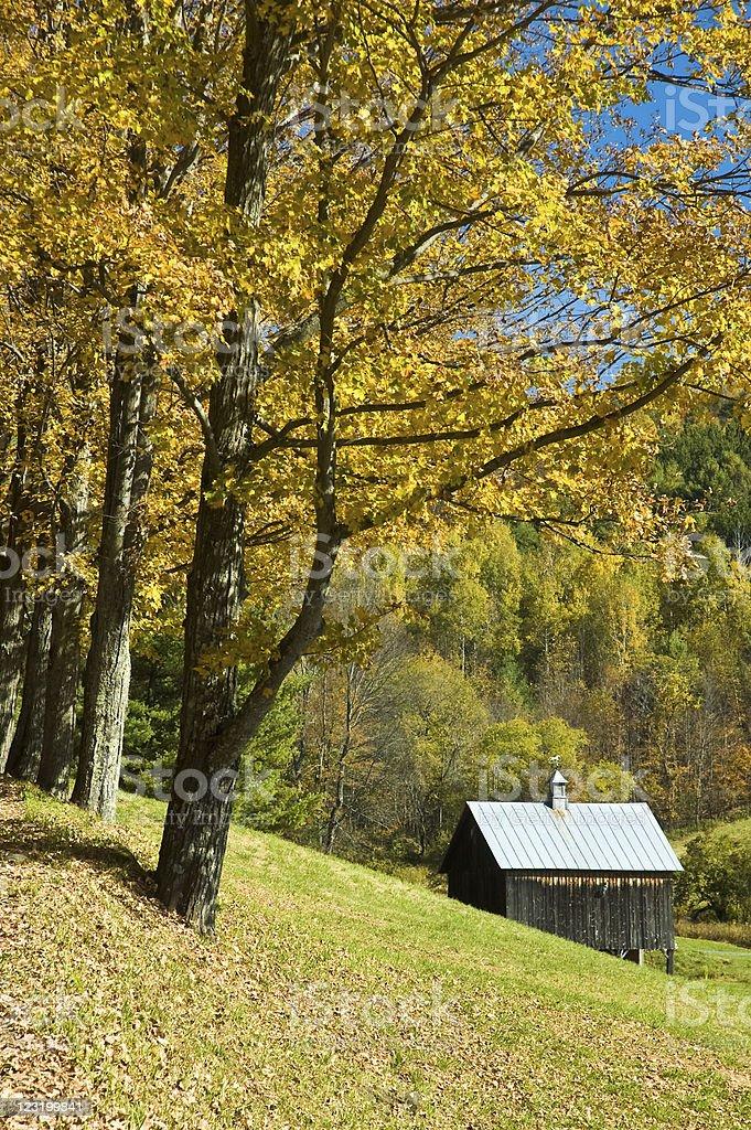 Ridge Road stock photo