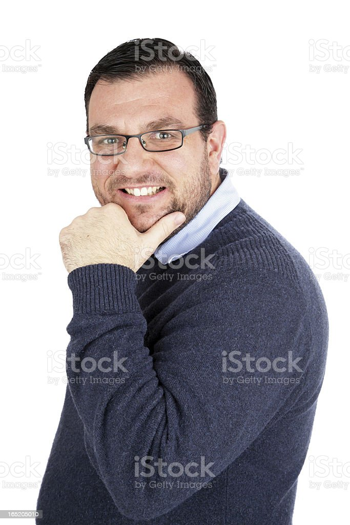 Ridiculously Good Looking Man royalty-free stock photo