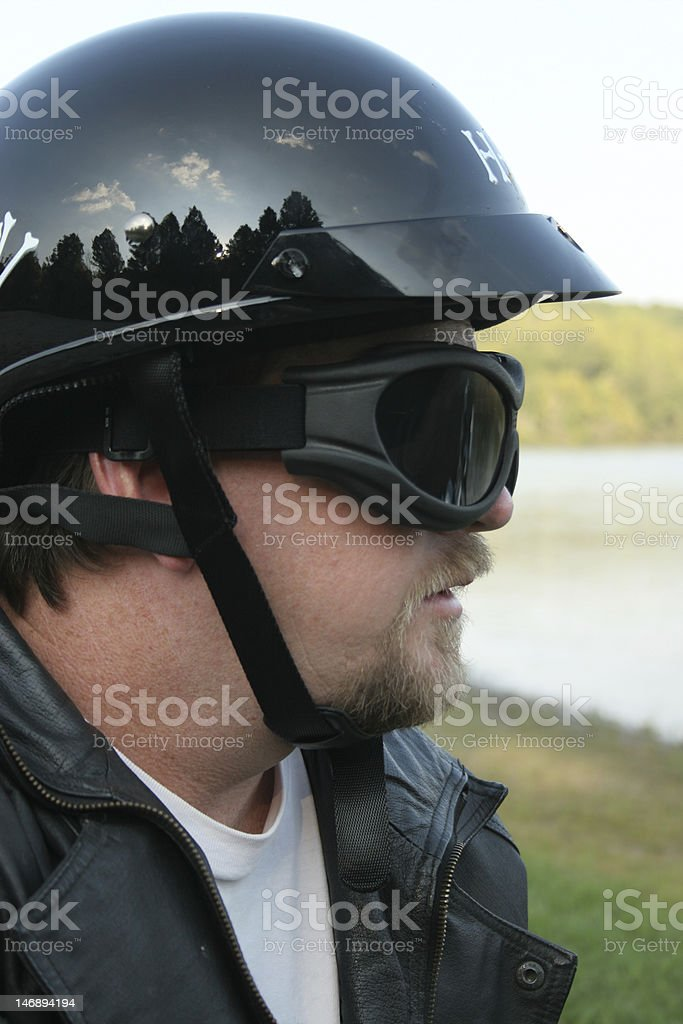 Riding Armor stock photo