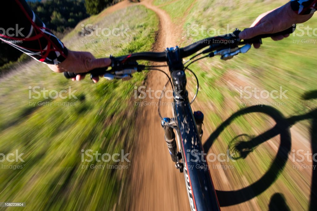 Riding Fast royalty-free stock photo