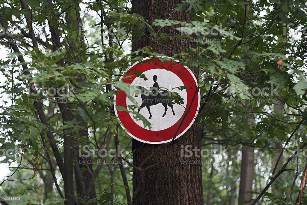 riding forbidden royalty-free stock photo