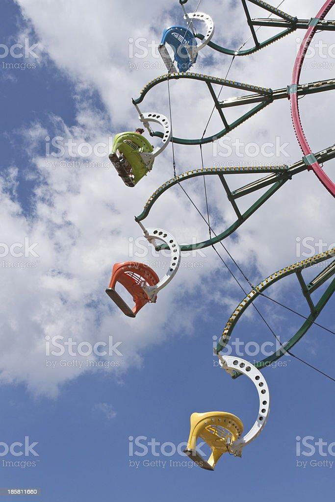 Riding High On the Ferris Wheel.jpg stock photo