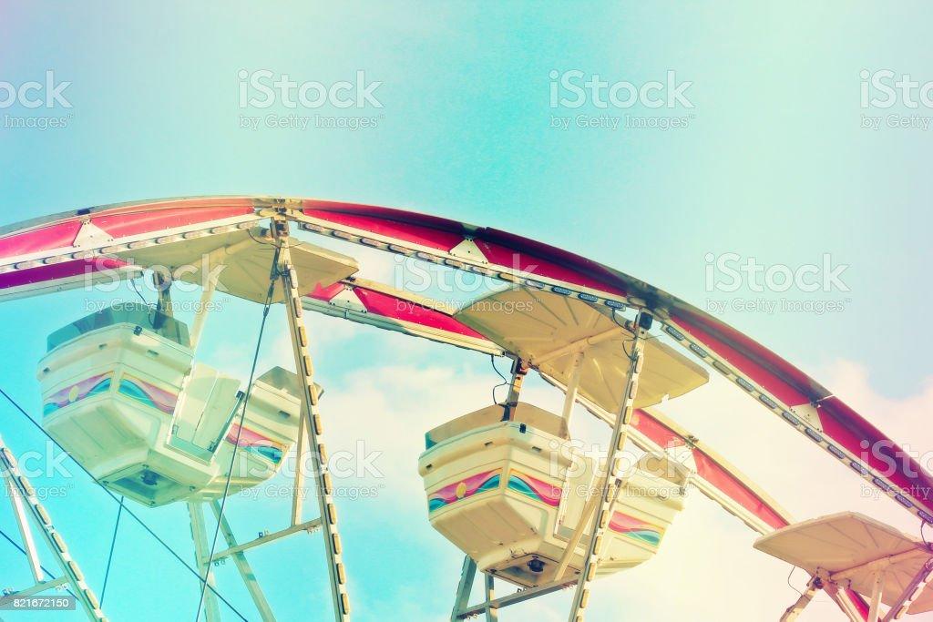 Riding high stock photo