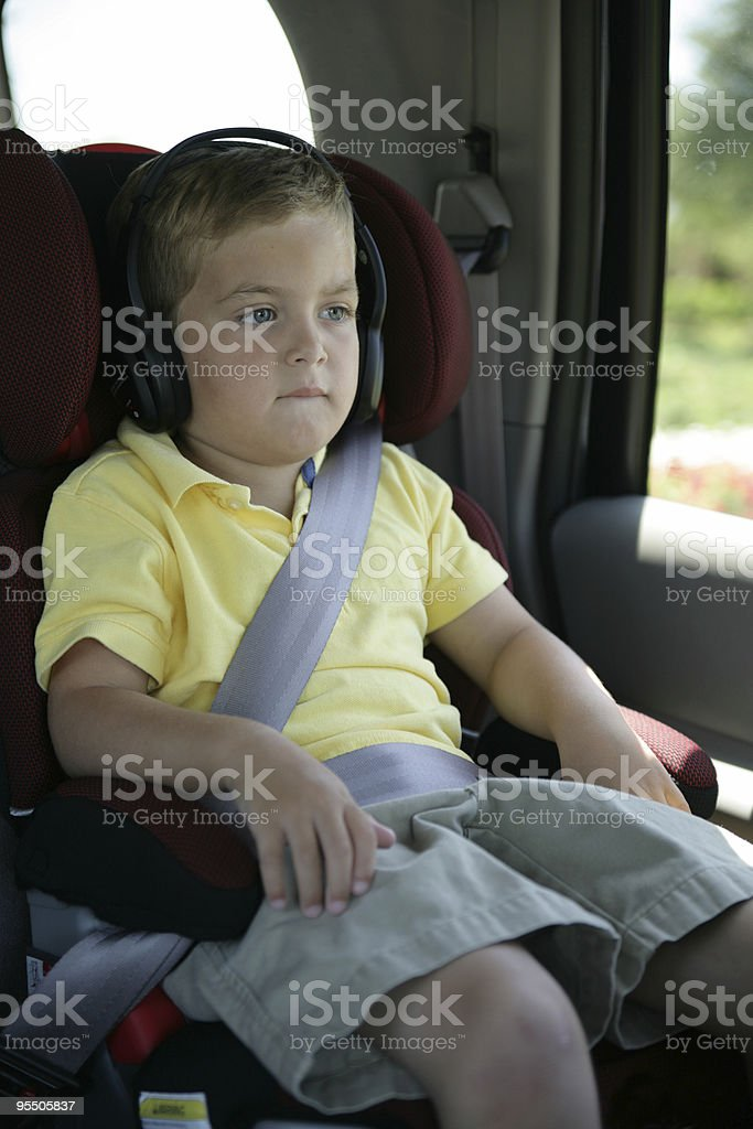 Riding in style! stock photo