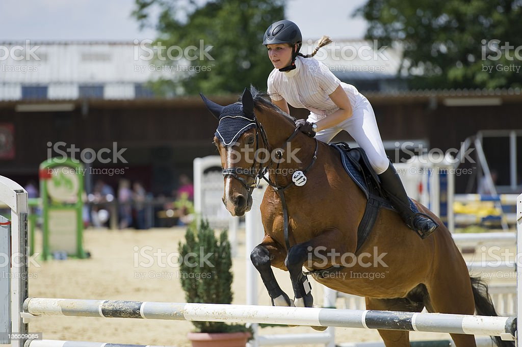 Riding stock photo