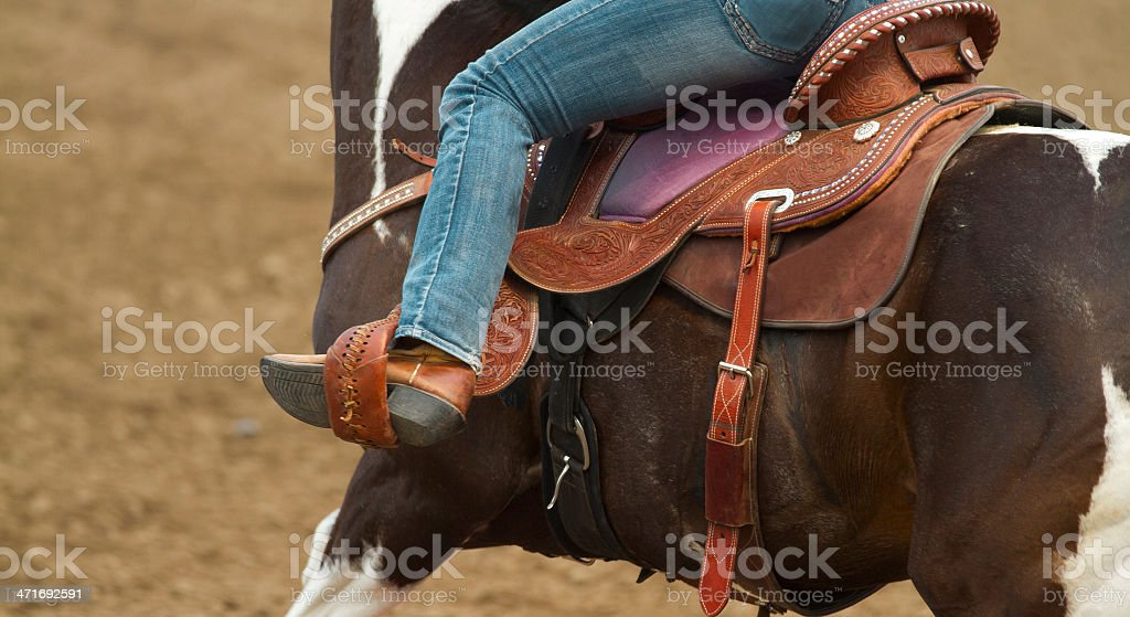 Riding stock photo