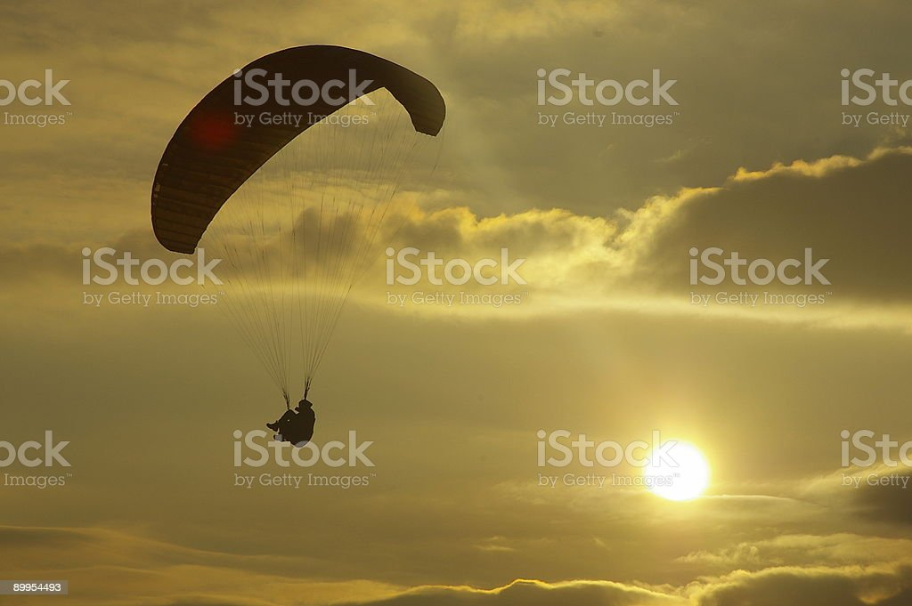 Riding the wind royalty-free stock photo