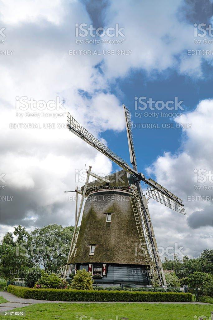 Riekermolen Amsteldijk, Amsterdam, The Netherlands, 5-7-2016 stock photo