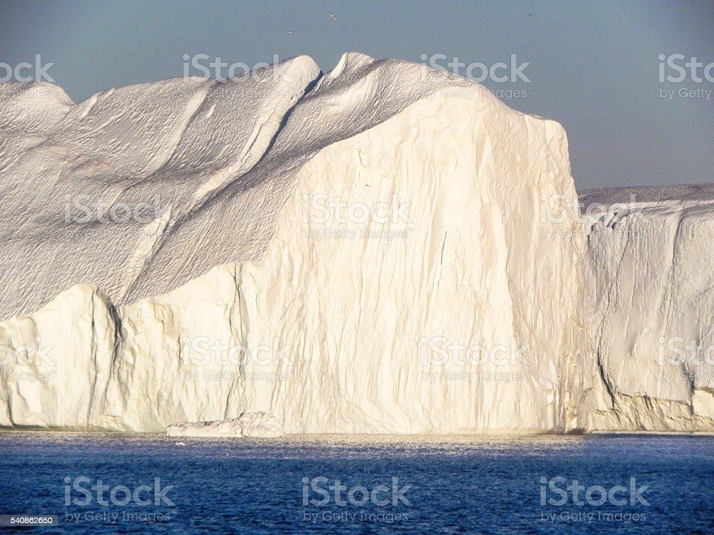riesiger Eisberg in der Diskobucht in Grönland stock photo