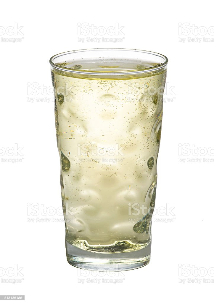 Riesling spritzer stock photo