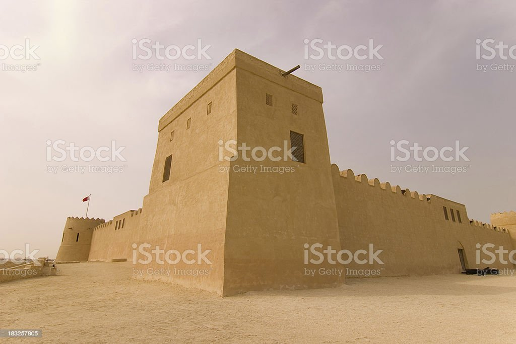 Riffa Fort, Bahrain stock photo