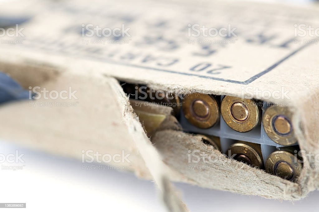 Rifle Cartridges Pack stock photo
