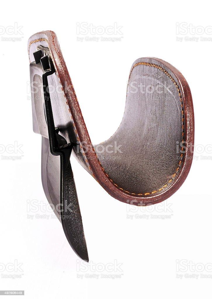 rifle holder stock photo