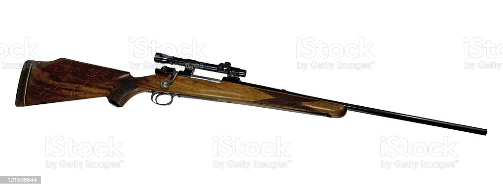 Rifle Husquavarna .270 stock photo