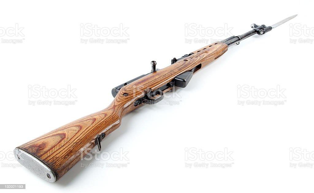 Rifle royalty-free stock photo